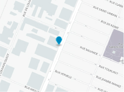 Map - 225 Chabanel - Office and loft for rent Montreal
